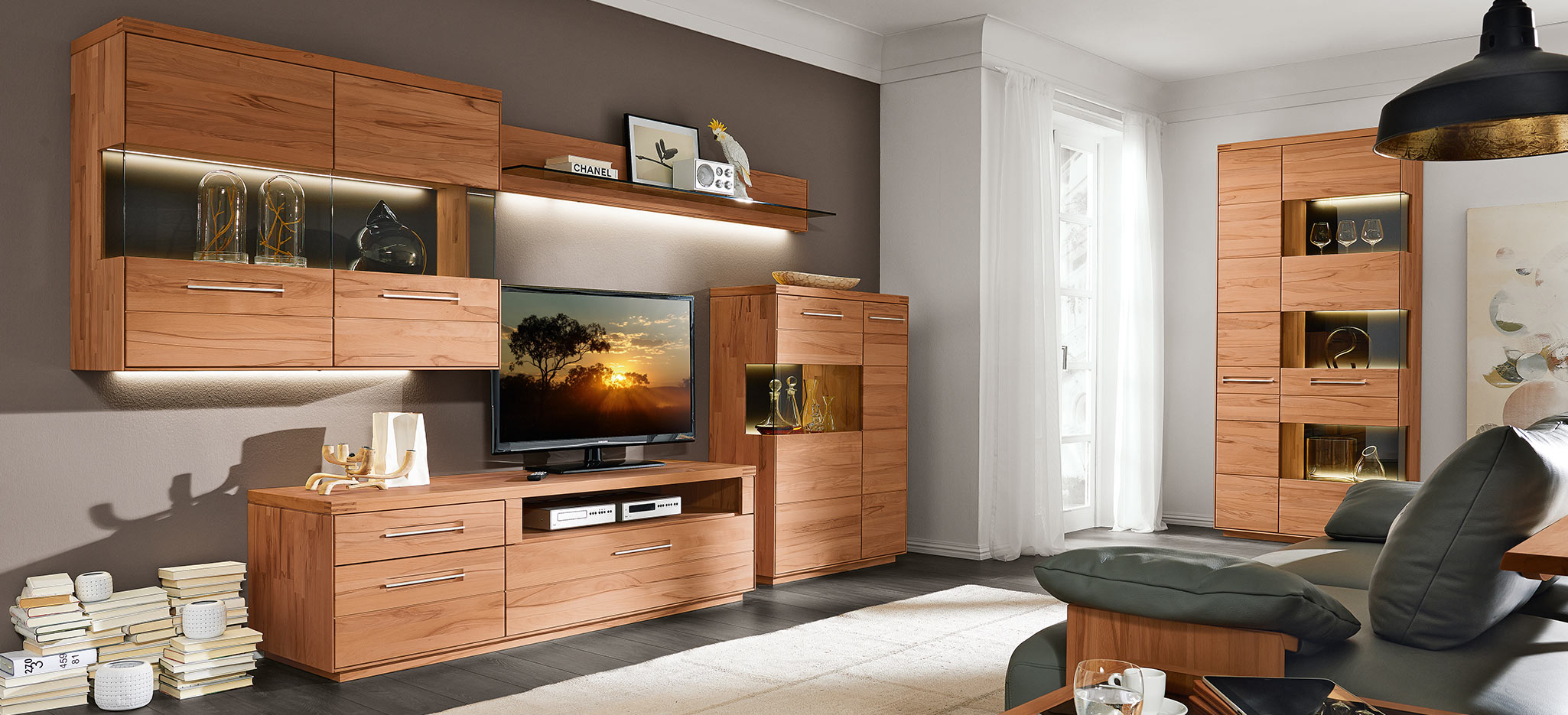 hochwertige massivholzk che vicenca hier auf. Black Bedroom Furniture Sets. Home Design Ideas
