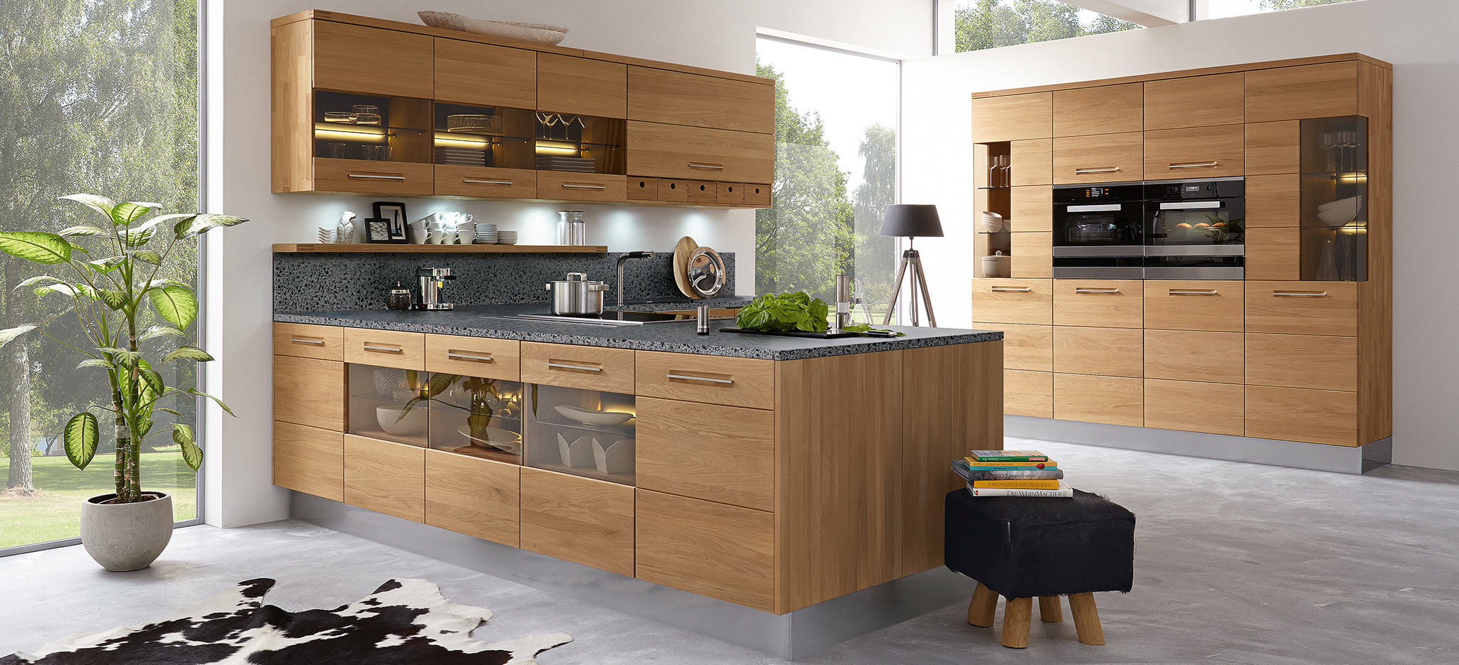 High quality solid wood kitchen Vicenca » here at decker.de ✓