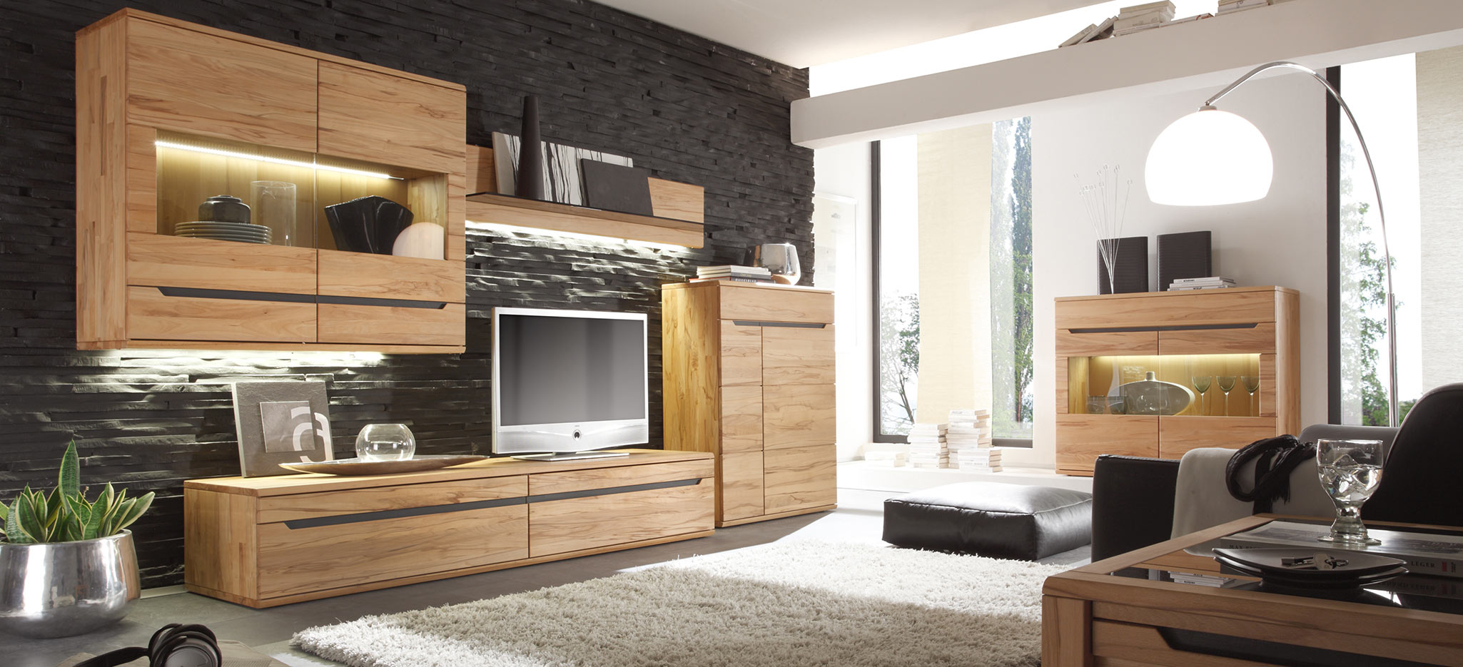 ameno massivholzm bel kollektion decker. Black Bedroom Furniture Sets. Home Design Ideas